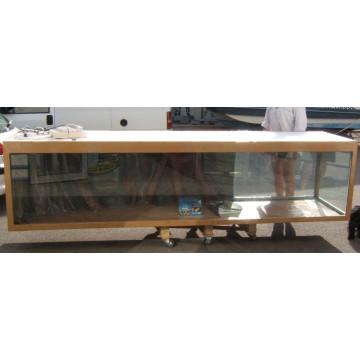 Aquarium et décors 2100 litres fibre et résine
