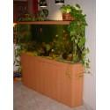 Aquarium d'angle 350 litres et meuble