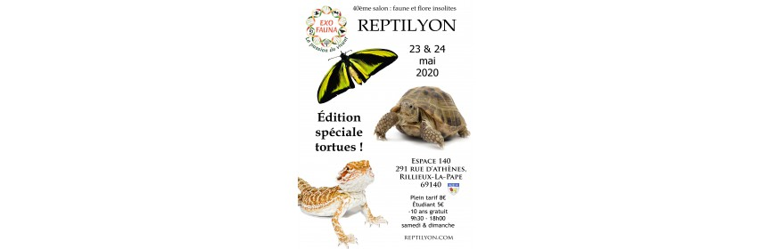 REPTILYON (69) bourse terrariophile ANNULEE