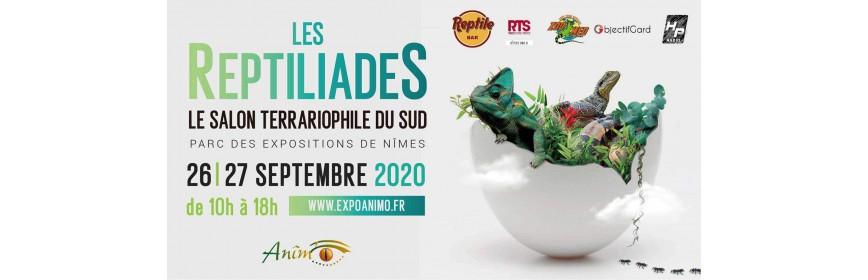 REPTILIADES (30) salon terrariophilie